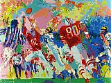 Leroy Neiman Rivalry Ohio State Buckeye Suite painting